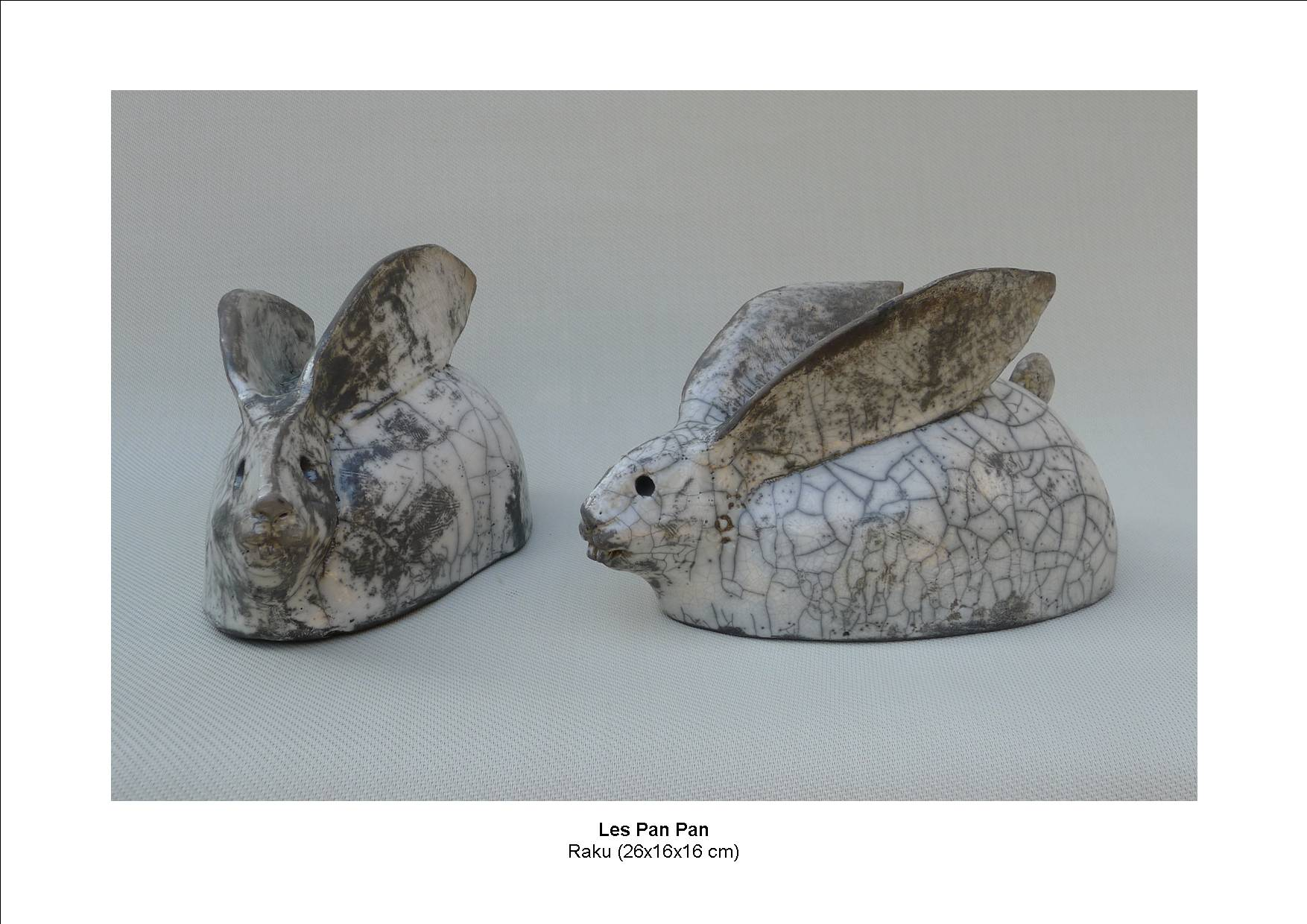 Les Pan Pan Olivier Adriansen Sculpteur